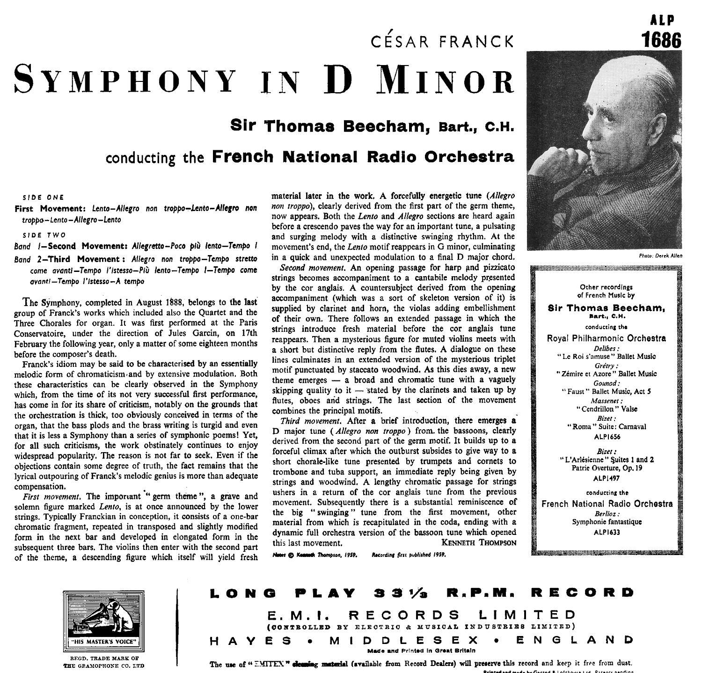 cantelli franck symphony