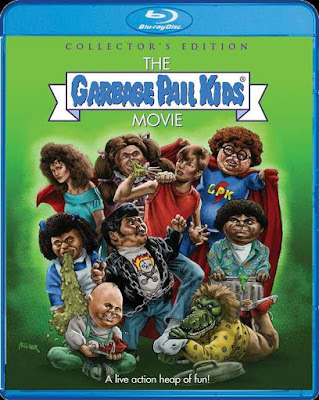The Garbage Pail Kids Movie Blu-ray cover Scream Factory