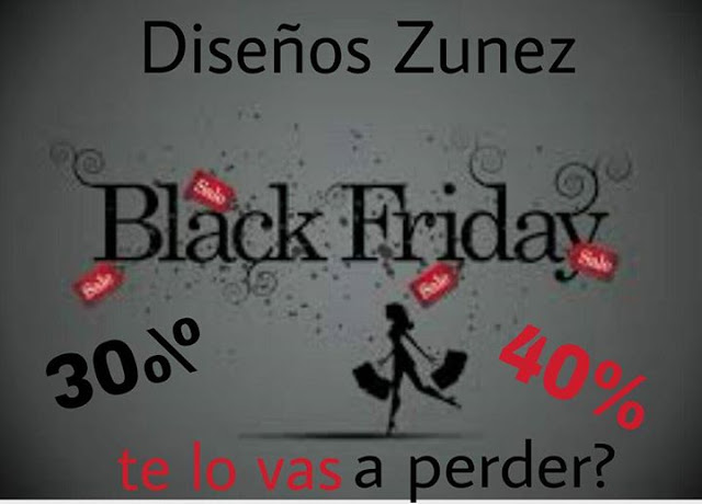 black friday Diseños ZUNEZ