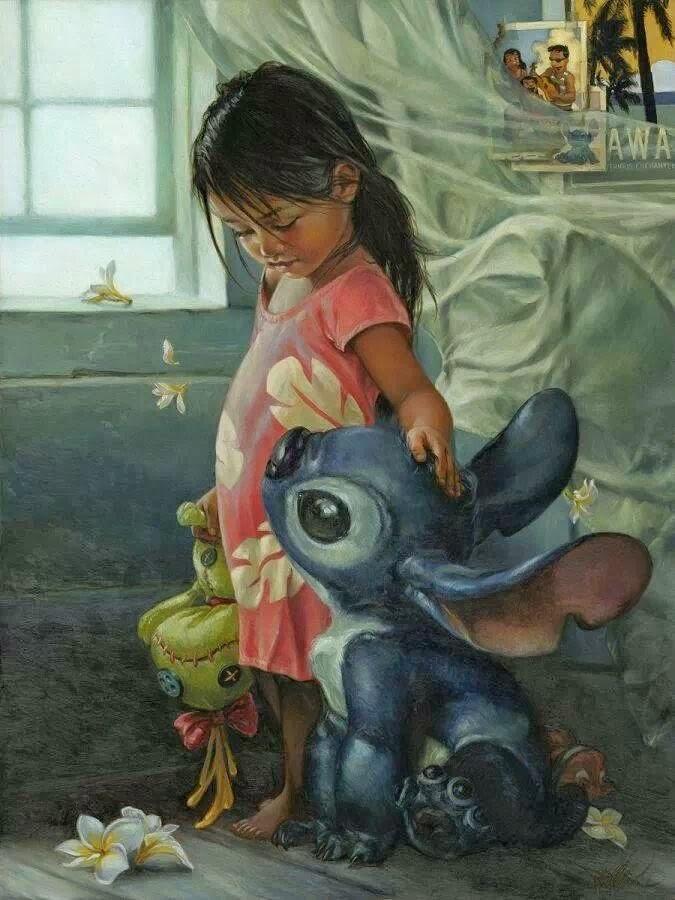Lillo e Stitch realista