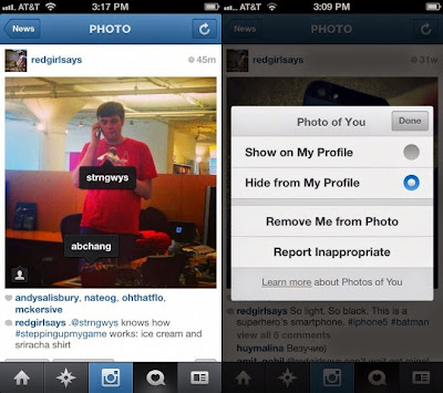 how to see tagged photos on instagram on computer