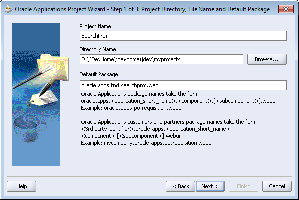 Step 2: Create a New Entity Object