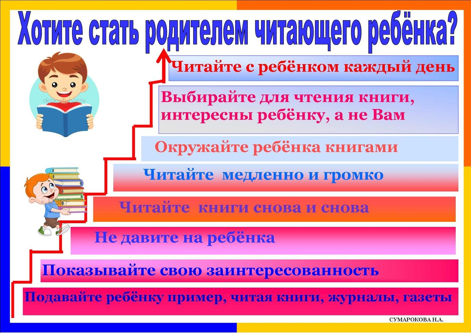 Родителям! Читающий ребёнок