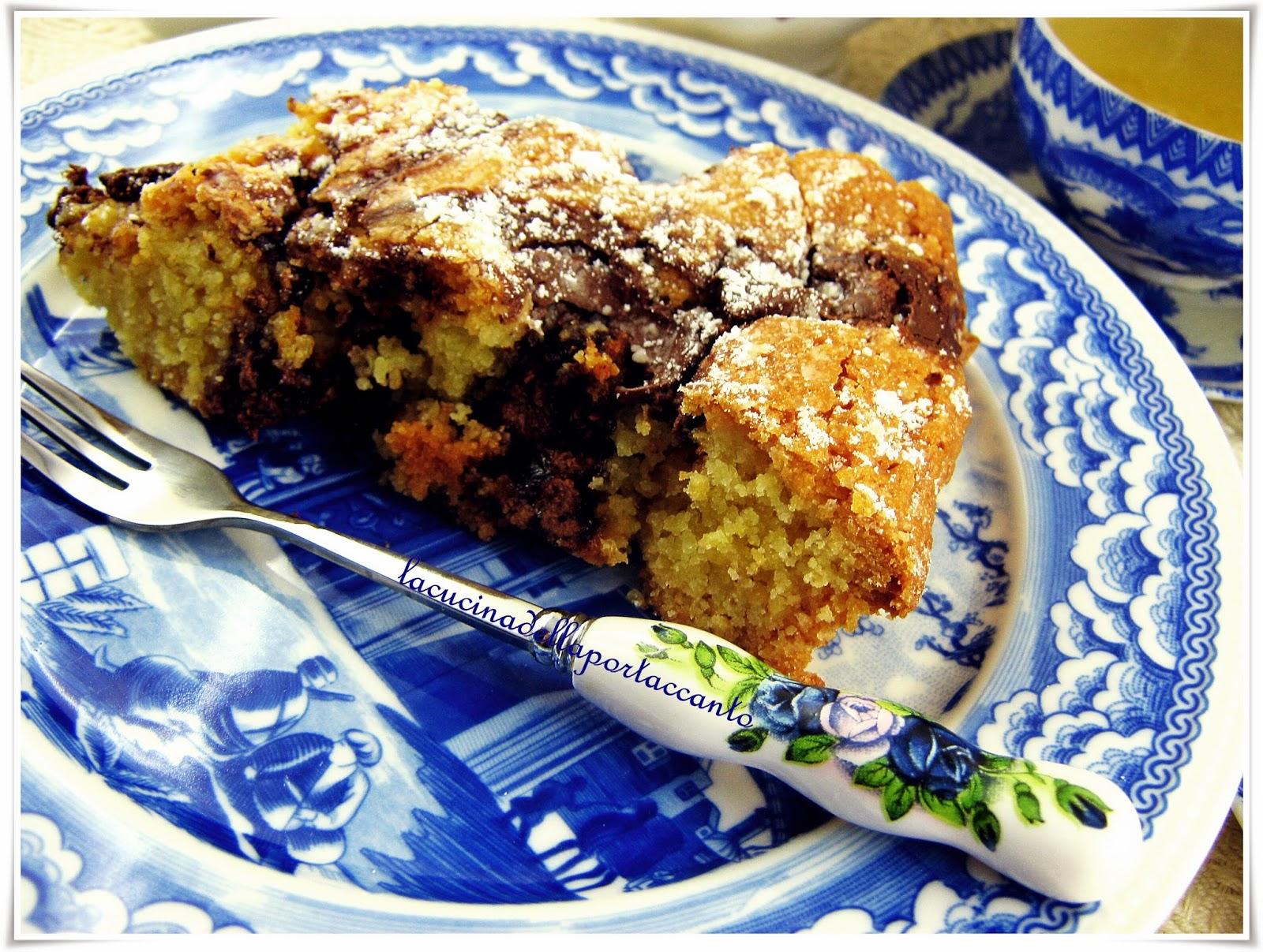 torta morbida alla crema di nocciole