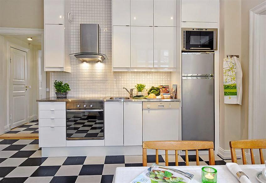 decorar cocinas pequeas modernas