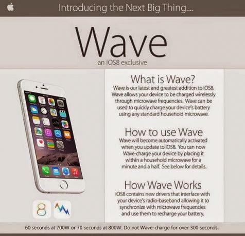 Wireless Charging, The New Feature of iOS 8, Its HOAX!