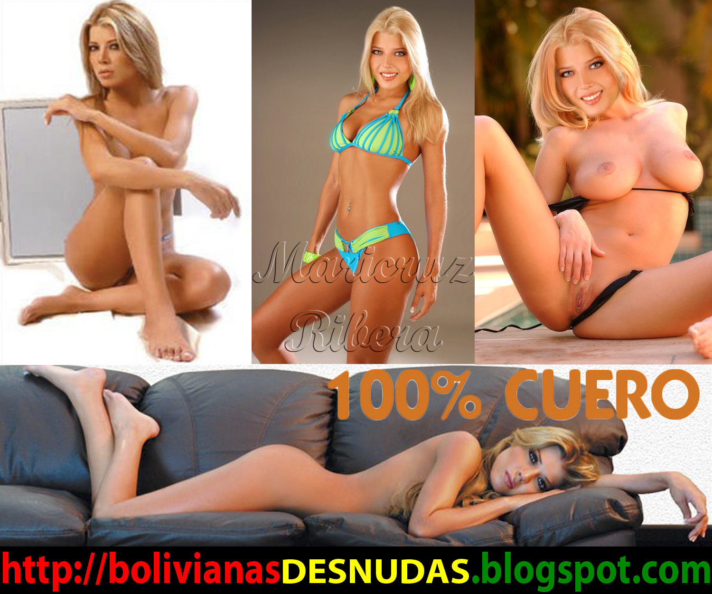 Bolivianas Famosas Desnudas Maricruz Ribera Desnuda Y Sey