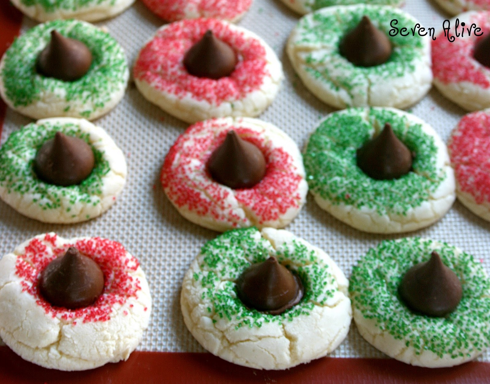 Cake Mix Cookies Holiday Edition