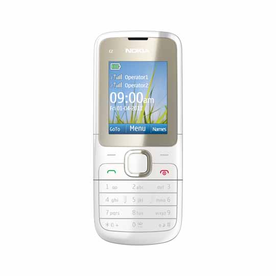 nokia c2 00 price in india with review features. Black Bedroom Furniture Sets. Home Design Ideas