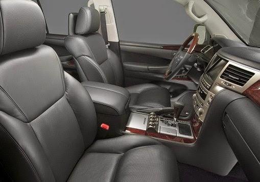2016 Lexus LX 570 Cross Interior