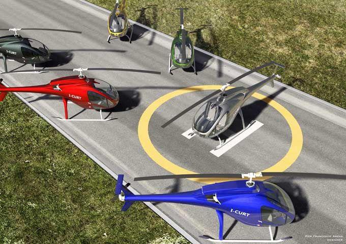 Elicottero Ultraleggero Biposto Prezzo : Angelo gentilini l elicottero biposto della curti di