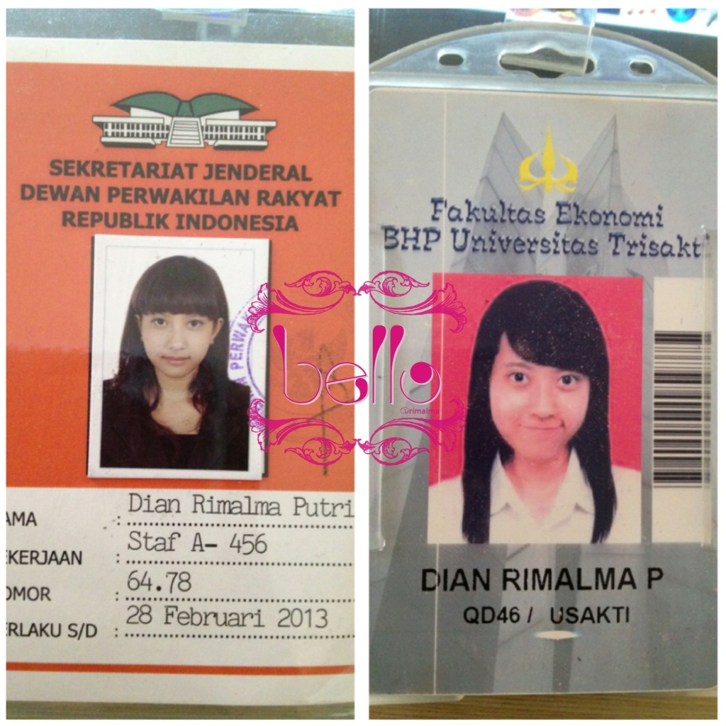 Bello blog award versatile my id card left id for dpr ri right id for assistant lecture of statistik and feasibility business study publicscrutiny Choice Image