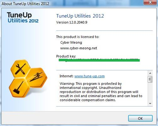 Tuneup Utilities 2012 Product Key Free