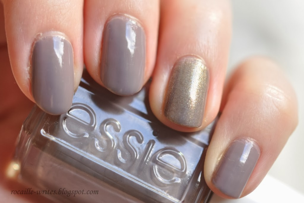 Essie Nail Color In Chinchilly Two Coats A Cult Classic For Reason Replaced Bottle Of Hot Coco My Collection While Was