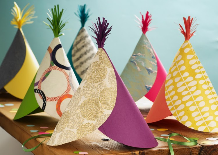 New Craft Ideas For Kids Part - 46: New Year Party Hats For Kids