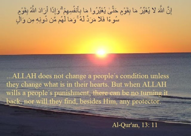 Allah Will Not Change the Condition of