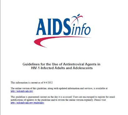 Guias Manejo Antiretroviral actualización 2012