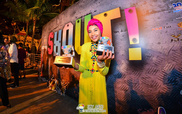 Yuna @ 8TV Shout! Awards 2012