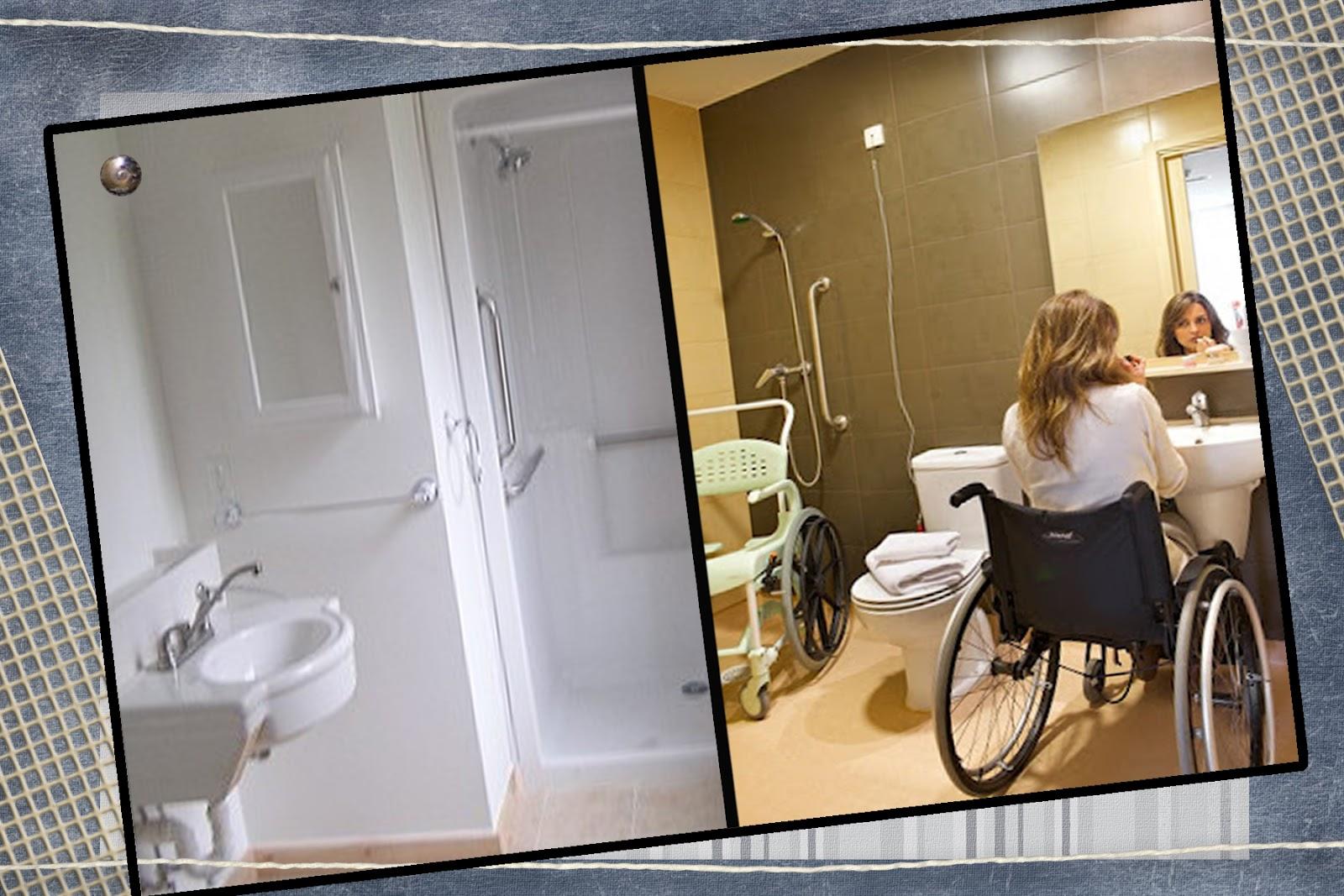 : Como devem ser os banheiros para deficientes físicos/cadeirante #644A27 1600 1067