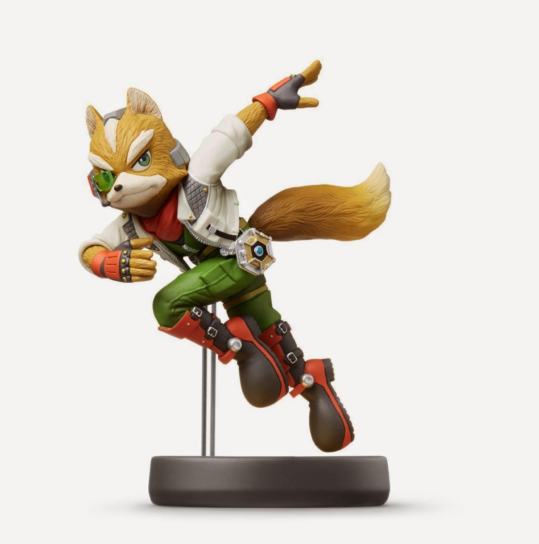 JUGUETES - NINTENDO Amiibo - 6 : Figura Fox   (28 noviembre 2014) | Videojuegos | Muñeco | Super Smash Bros Collection  Plataforma Wii U