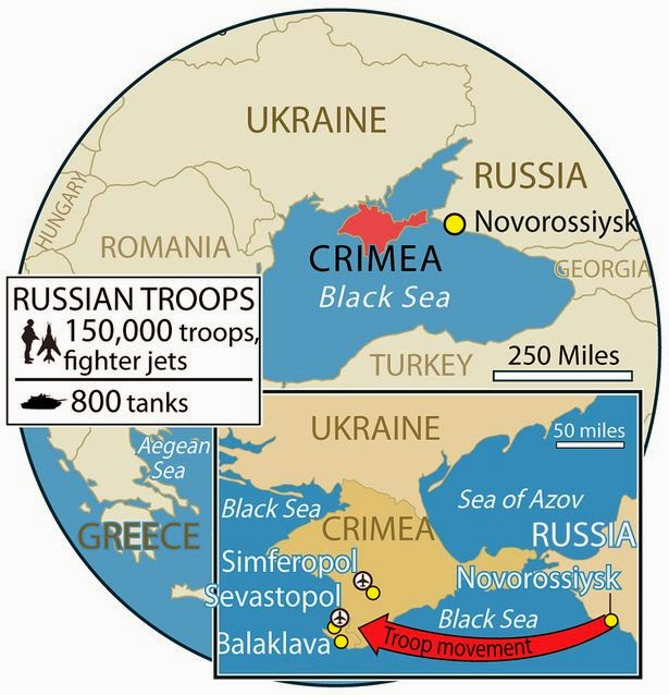Springtime Of Nations Islam And The Second Crimean War Russian - Crimea map geopolitics south russia