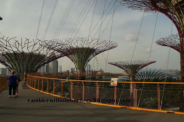 Skywalk, Gardens By the Bay, Singaore