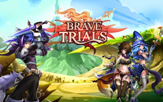Screenshots of the Brave Trials for Android tablet, phone.