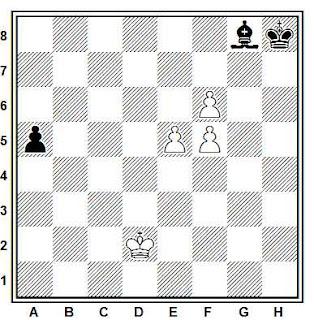 Problema ejercicio de ajedrez número 762: Estudio de Liburkin (1948)