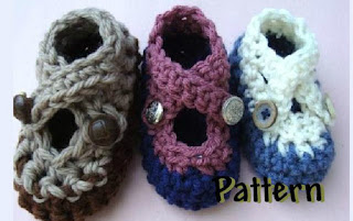 http://www.craftsy.com/pattern/crocheting/Clothing/Crossed-Strapped-Booties/3381