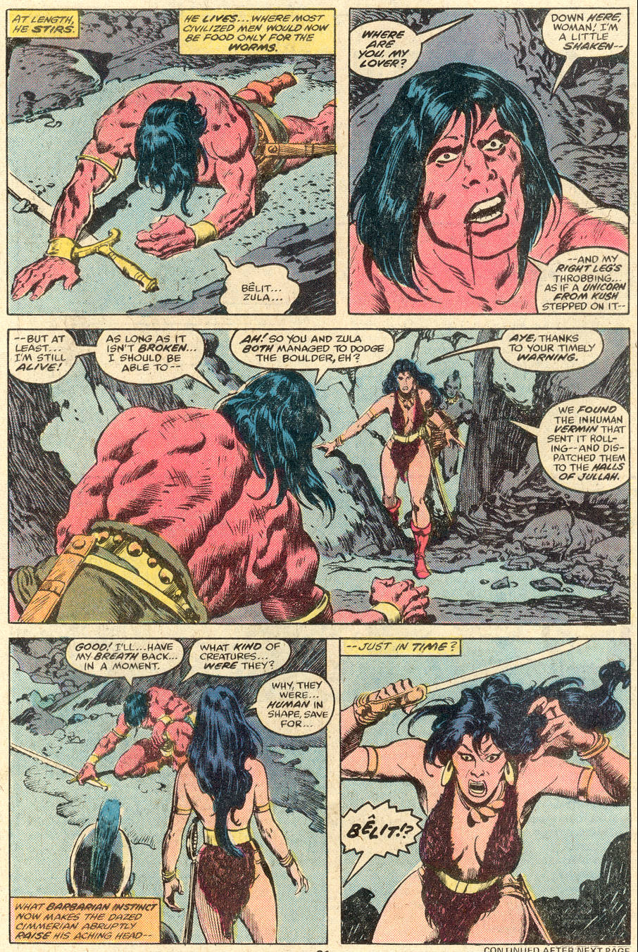 Conan the Barbarian (1970) Issue #89 #101 - English 14