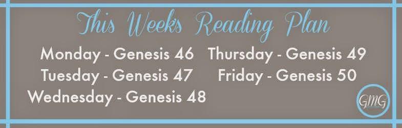 Genesis Reading Plan