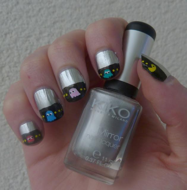 nail art pacman