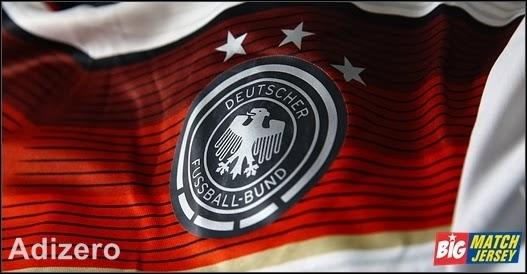 Logo Emblem Sablon Club Pada Jersey Adizero Fifa World Cup 2014