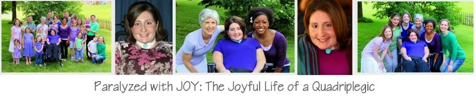 Paralyzed with JOY!