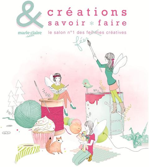 Le salon cr ations et savoir faire 2013 f tes party printables - Salon creation et savoir faire ...