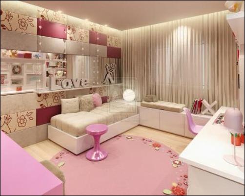 Key interiors by shinay cool modern teen girl bedrooms - Cool teen girl rooms ...