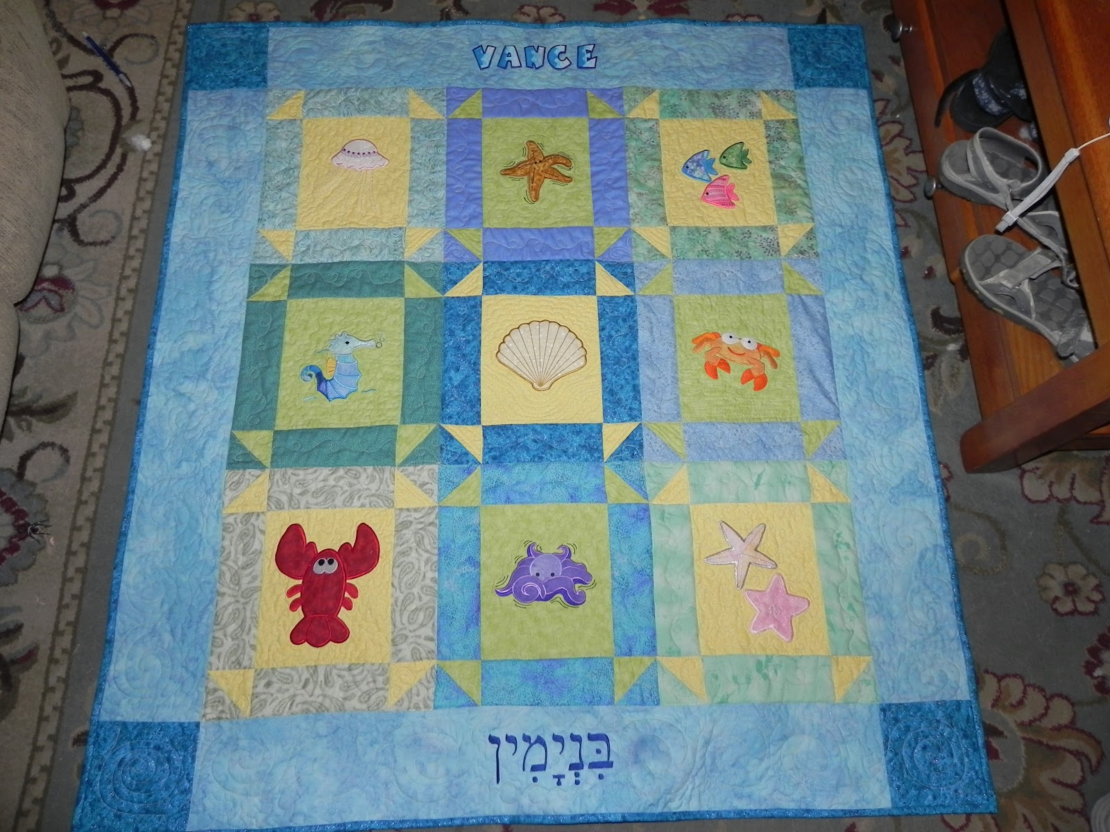 Dinah s Quilts and Embroidery: Baby / Toddler Quilts