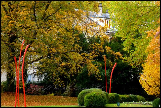 Automne domaine de Madame Elisabeth Versailles
