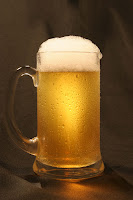 Photograph of a mug of beer