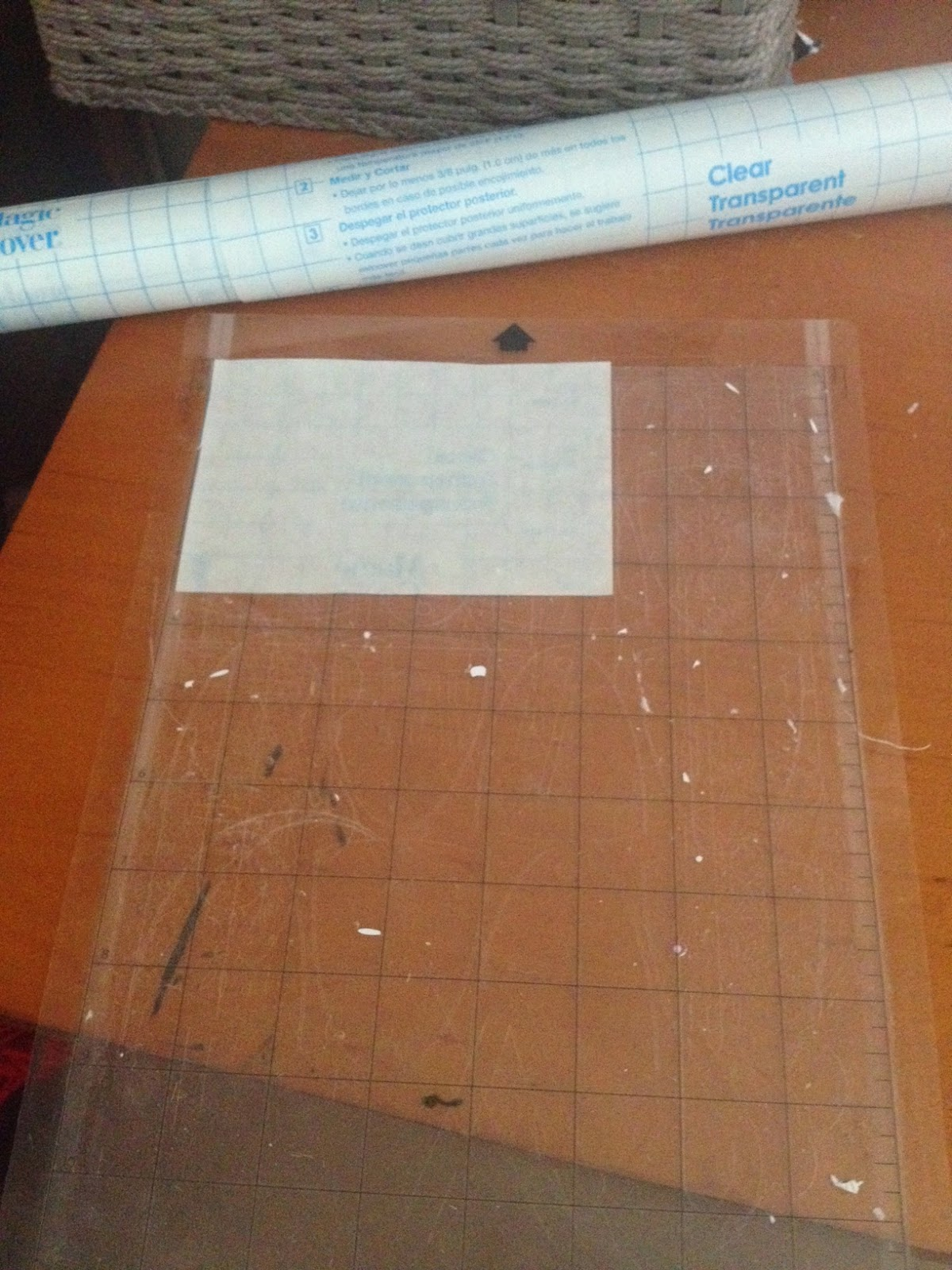 Dollar Store Stencil Vinyl Material For Silhouette