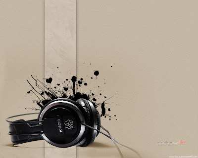 wallpapers and backgrounds music - Headphone