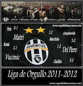 LIGA DE ORGULLO 2011-2012