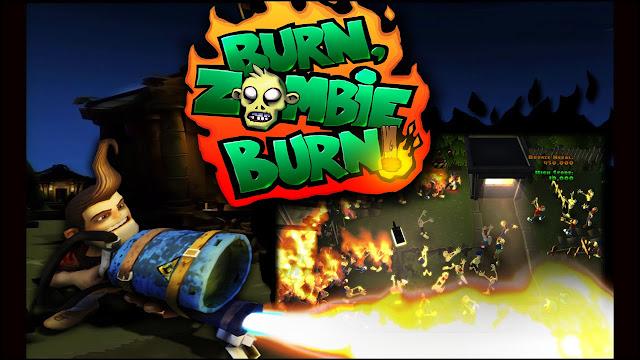 Burn Zombie Burn v2.0 Apk + Datos SD Full