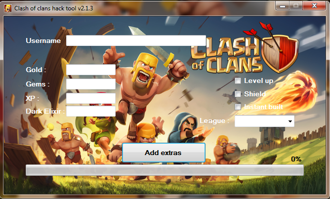 Clash of clans game hack: Clash of clans hack tool v2.1.3