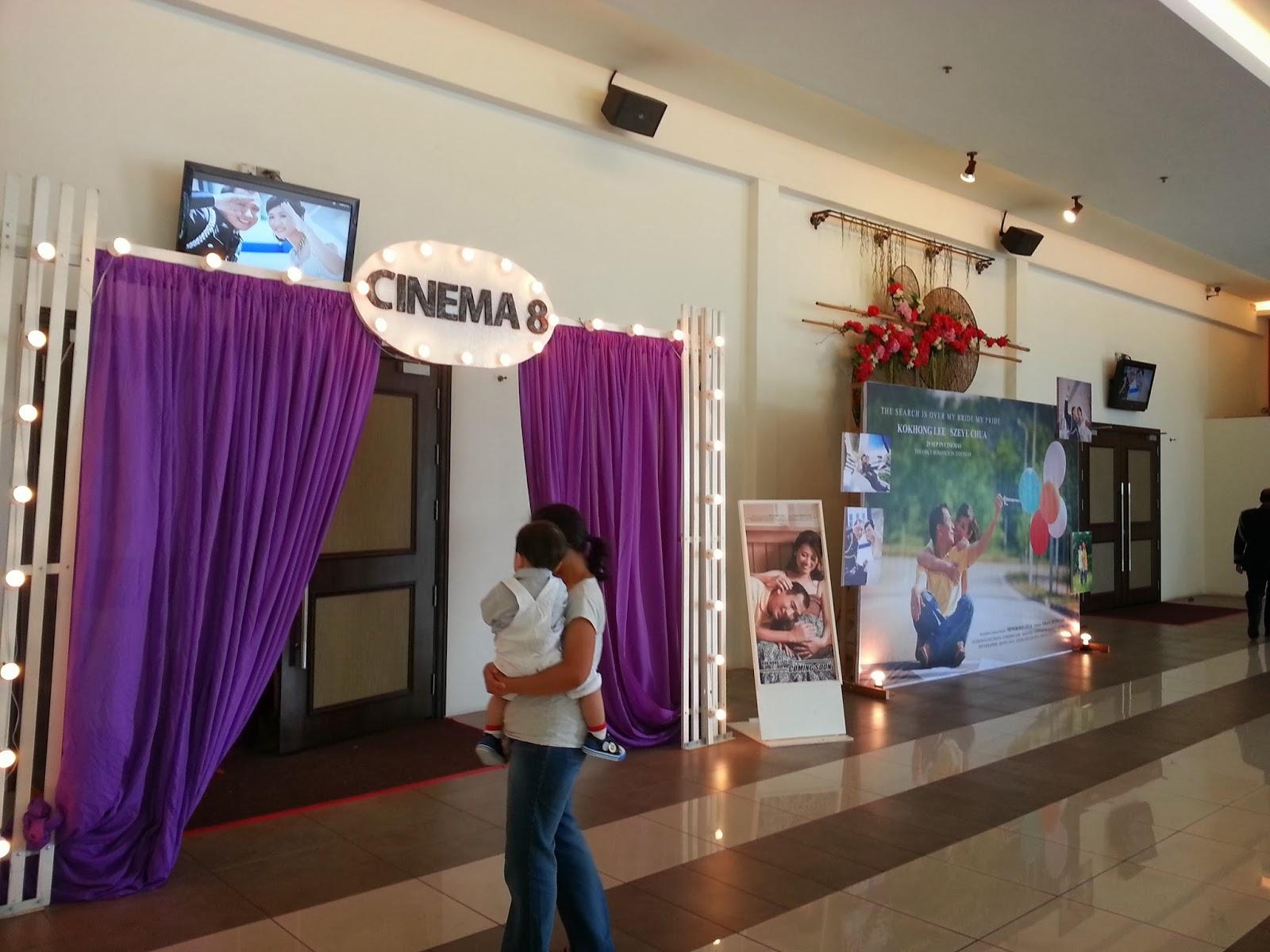 A cinema and policethemed wedding in muar wedding theme cinema junglespirit Choice Image