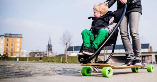 waynemaxwell.com: Skate Stroller.
