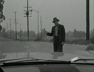 Rod serling adapted the hitch hiker from a radio play