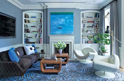 blue living room  6