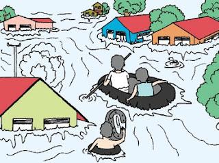 Banjir di Desa
