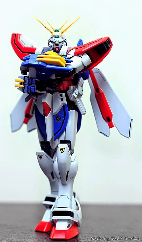 God gundam model kits century